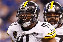 According to Pro Football Focus, Stephon Tuitt and Cam Heyward were two of the Steelers' three best players in the win vs. the Colts Sunday in Indianapolis.