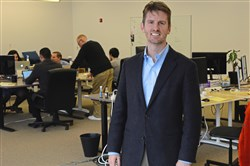 Kevin Miller, CEO of LegalSifter, at the company's Strip District offices in November.