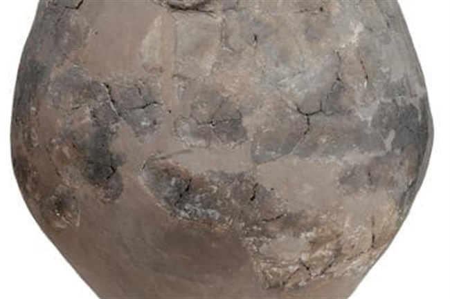 A Neolithic wine jar from Georgia.