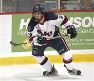 Luke Lynch, a Shaler grad who plays hockey at Robert Morris Photo by Jason Cohn