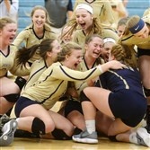 The Freeport High School girls volleyball team advanced to the PIAA finals with a win against Beaver.