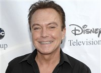 This Aug. 8, 2009 file photo shows actor-singer David Cassidy at the ABC Disney Summer press tour party in Pasadena, Calif.