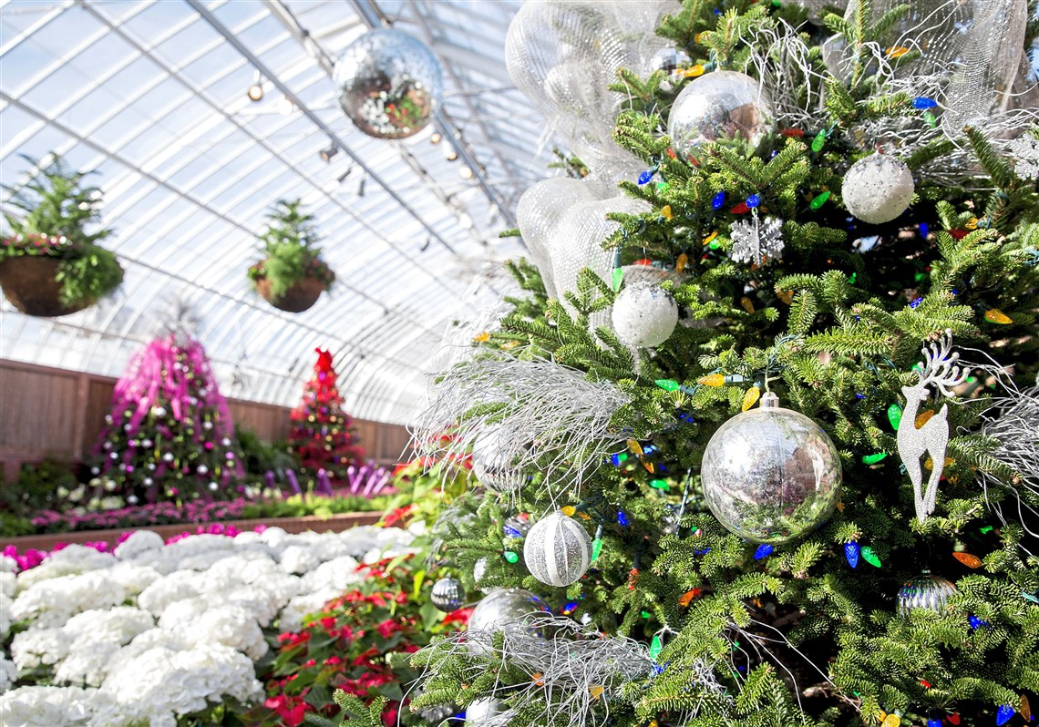 Phipps Winter Flower Show presents \'Holiday Magic\' | Pittsburgh Post ...
