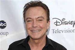 In this Aug. 8, 2009, file photo, actor-singer David Cassidy arrives at the ABC Disney Summer press tour party in Pasadena, Calif.