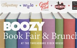 Boozy Brunch Book Fair will be held on Sunday at Wigle Whiskey's new cider-making offshoot in Spring Garden.