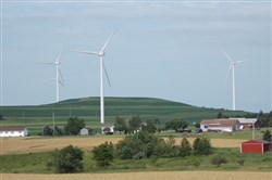 The Patton Wind Farm in Cambria County, owned by Strip District-based EverPower Wind Holdings.
