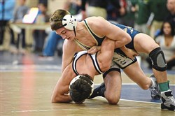 Kiski Area's Cam Connor, a junior, is one of four Cavaliers who qualified for the PIAA tournament last year.