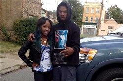Chyna Brown  with Lamont Carey in 2014 at an event honoring Mr. Carey's fellow rapper Anton Smith, who was killed a year earlier. Mr. Carey, 24, was fatally shot Saturday in Wilkinsburg. He was a rapper in a popular local hip-hop group known for its raw lyrics and violent videos.