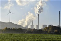 In this file photo, a coal-burning power plant steams in Gelsenkirchen, Germany, on Nov. 17, 2017.