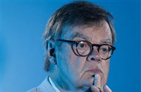 "Garrison Keillor, most famous as the creator and host of ""A Prairie Home Companion"" on Minnesota Public Radio, in St. Paul, Minn., in June 2016. He was fired in November over allegations of improper behavior."