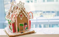 Adults can learn to make gingerbread houses with Fairmont Pittsburgh hotel pastry chefs in a class Dec. 19.