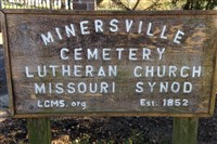 The Minersville Cemetery in the Upper Hill District.