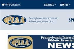 PIAA homepage screengrab, Dec. 8, 2017