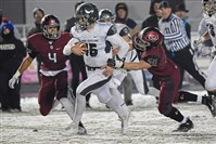 Pine-Richland quarterback Phil Jurkovec runs for a touchdown in the PIAA Class 6A championship against St. Joseph's.