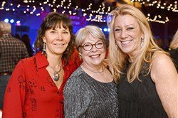 From left: Diane Leslie, Sharon Rigatti and Joyce DeLuca.