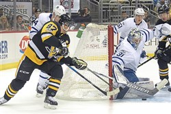 The Maple Leafs beat the Penguins 4-3 in the teams' first meeting Dec. 9.