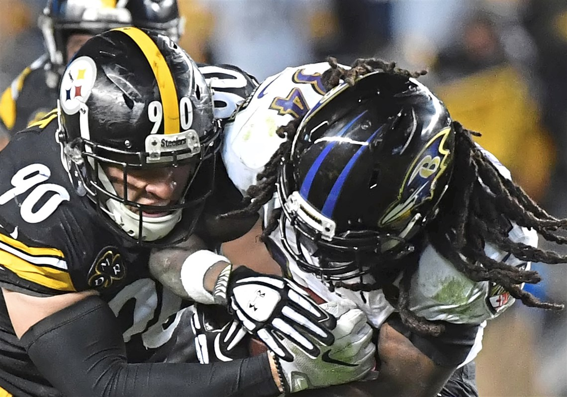 Jj watt is keeping an eye on little brother tj pittsburgh tj watt wraps up the ravens alex collins kristyandbryce Image collections