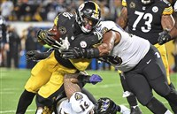 """We can win a shootout against anybody,"" Le'Veon Bell said."
