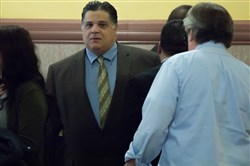 Former state Rep. Marc Gergely, D-White Oak, arrives at the Allegheny County Courthouse in Downtown Pittsburgh Monday for sentencing for playing a role in an illegal million-dollar video gambling ring that once operated in the Mon Valley.