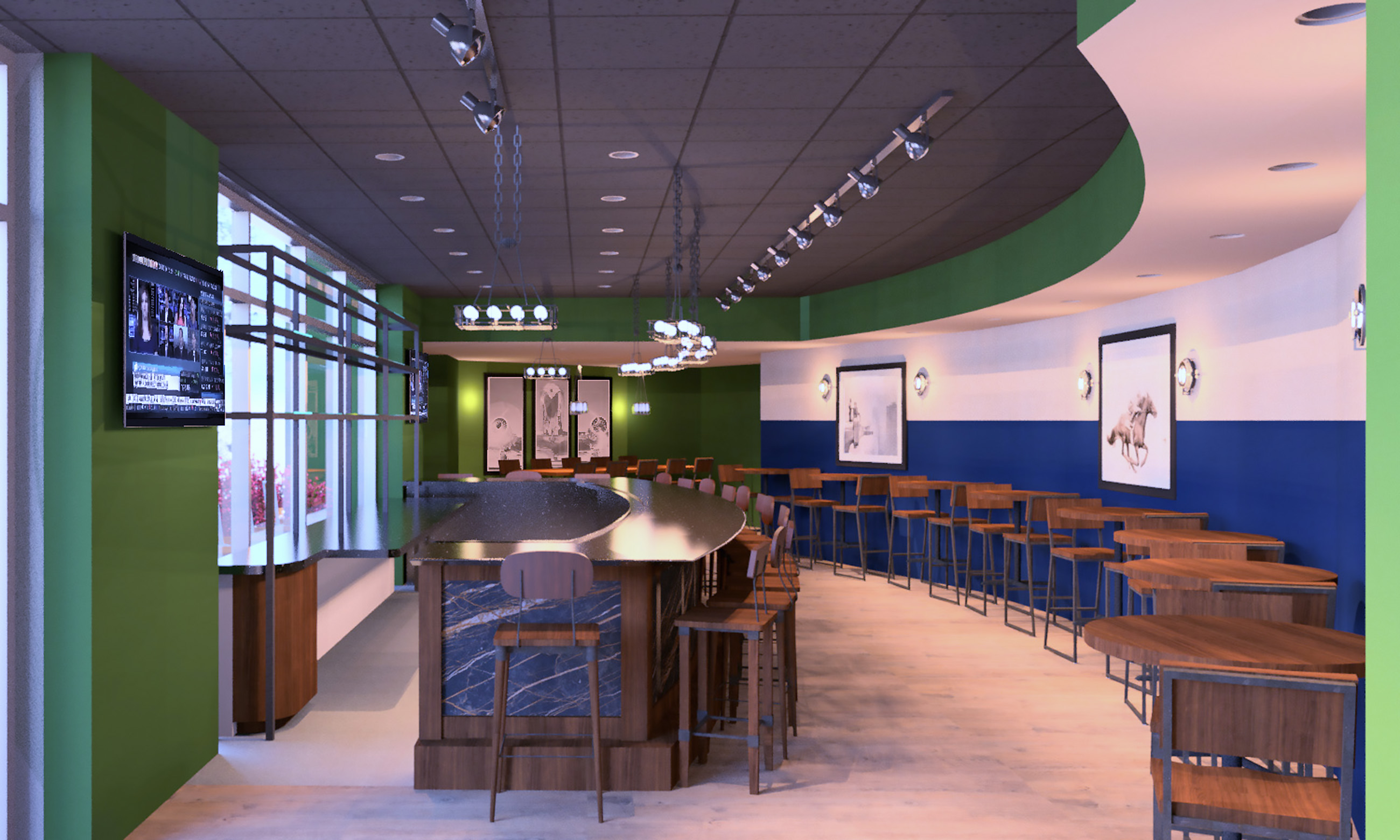 FirstLook.jpg The lounge area of Oxford Market in One Oxford Centre, opening next month.