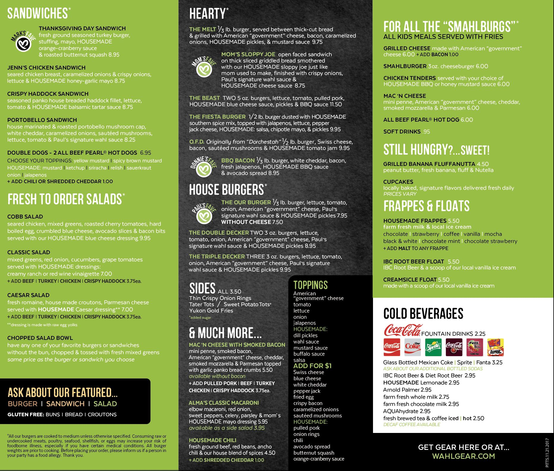 Screen-Shot-2017-12-11-at-4.34.39-PM.png The Pittsburgh menu for the first Wahlburgers location