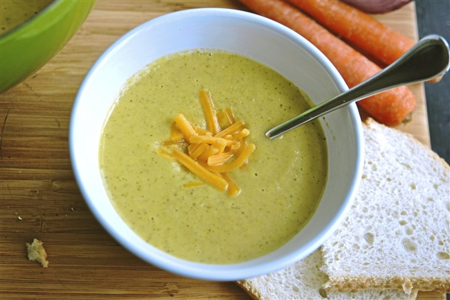 Broccoli Carrot Soup.