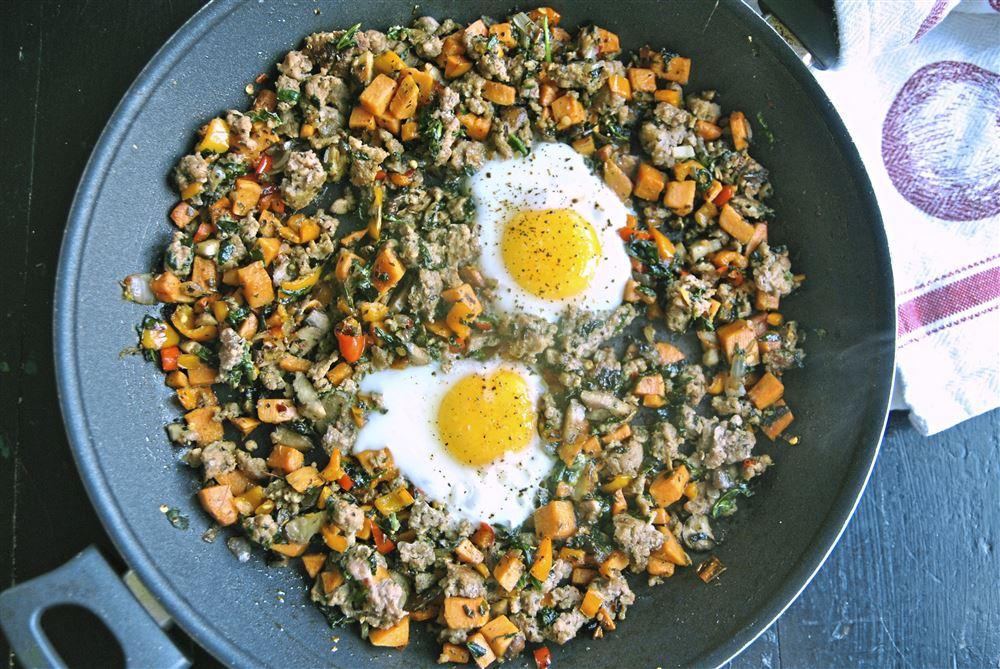Turkey and Veggie Hash