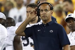 Penn State coach James Franklin was pleased with the linemen the Nittany Lions landed in its 2018 recruiting class.