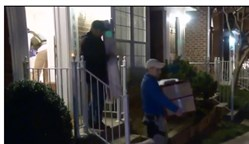 Screen grab of KDKA website coverage of Sean Duncan's house in Virginia being searched on Friday, Dec. 29, 2017.