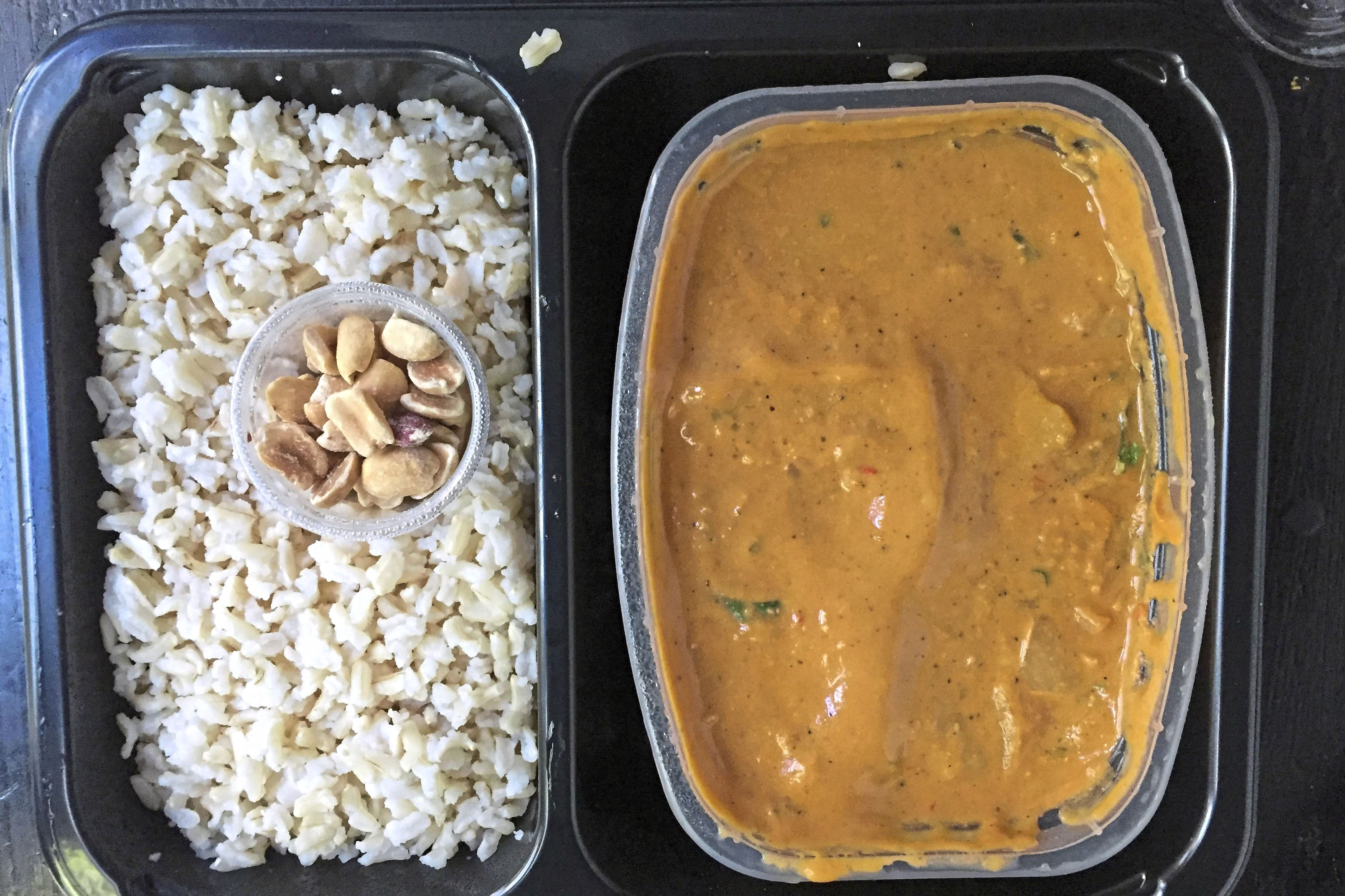 sprinly peanut stew 1-1 North African Harissa Peanut Stew is among the many vegan options from the Cleveland food start-up Sprinly.
