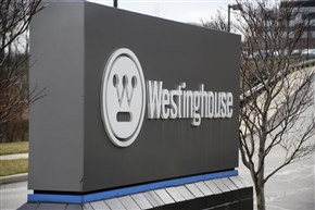The entrance to Westinghouse International Headquarters in Cranberry.