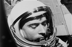 This 1965 photo made available by NASA shows John Young during the Gemini 3 mission. NASA says the astronaut, who walked on the moon and later commanded the first space shuttle flight, died on Friday, Jan. 5, 2018. He was 87.