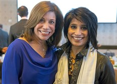 Stefani Pashman, left, and Aradhna Oliphant.