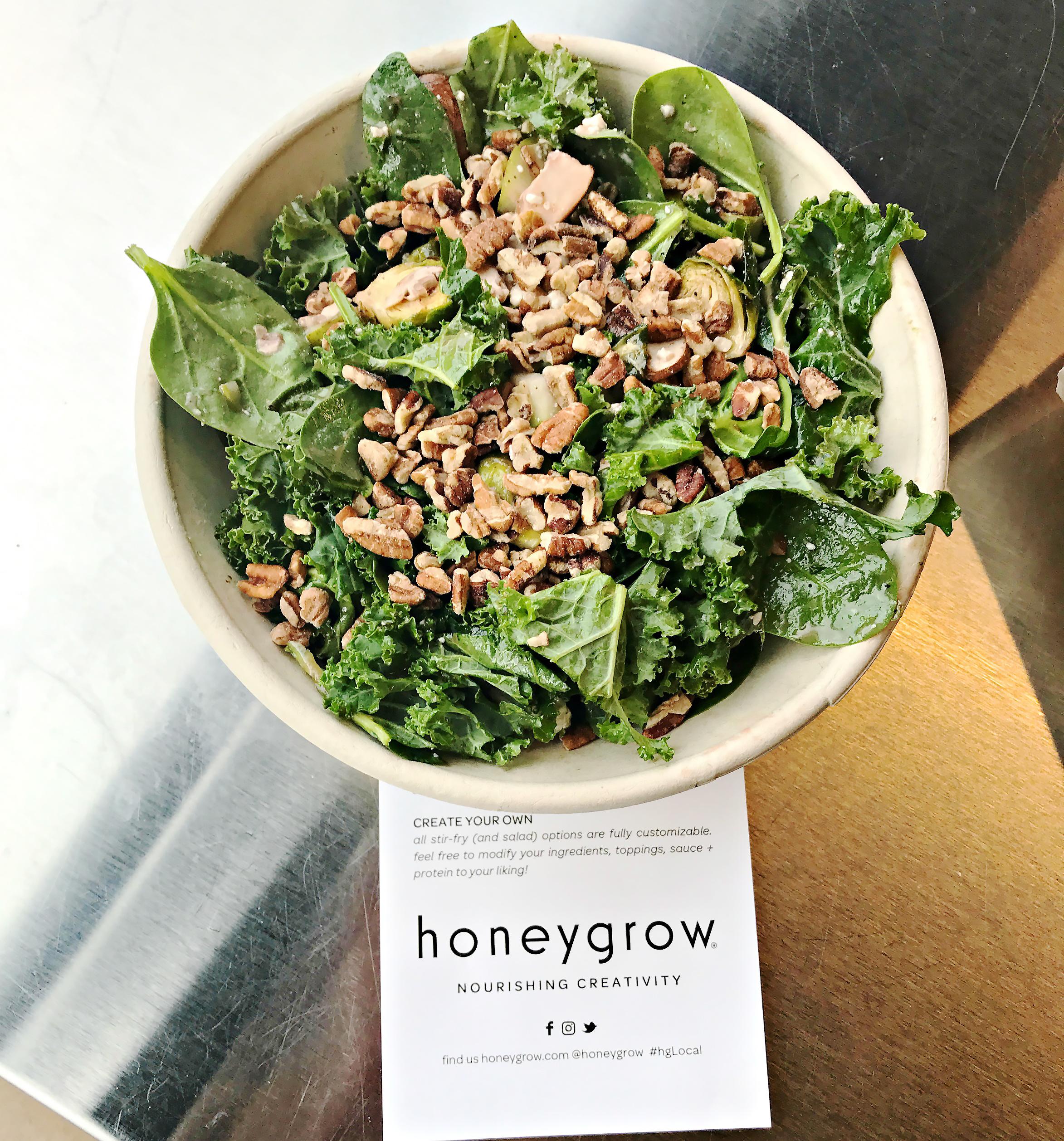 IMG_2166.JPG The Winter Kale salad at Honeygrow in East Liberty.
