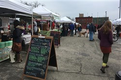 Old Time Farm is among the vendors at the Bloomfield Winter Market.