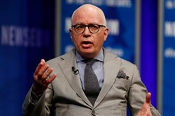 "Michael Wolff has become an overnight sensation at 64 due to his book about the Trump administration, ""Fire and Fury."""