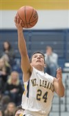 Antonio Garofoli and the Mt. Lebanon Blue Devils are the No. 1 seed in the WPIAL Class 6A boys basketball playoffs.