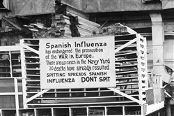 "The ""Spanish Flu"" killed tens of millions of people, but it did not start in Spain."