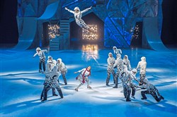 "Cirque du Soleil hits town with ""Crystal.""  The ice show will be performed throughout the weekend at PPG Paints Arena."