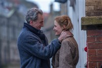 "Daniel Day-Lewis and Vicky Krieps in ""Phantom Thread."""