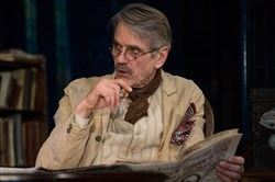 "Jeremy Irons as James Tyrone in ""Long Day's Journey Into Night"" in London."