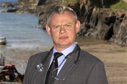 "Martin Clunes plays the title role in British series ""Doc Martin."""