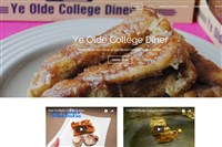 A screenshot of Ye Olde College Diner's website. The diner, located in downtown State College, Pa., is a mainstay for Penn State students and alumni, may close.