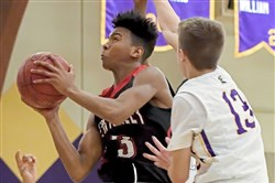 Guard Isiah Warfield will lead Sewickley Academy into the WPIAL playoffs as the top seed in Class 2A.