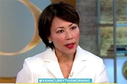 "Ann Curry on ""CBS This Morning."""