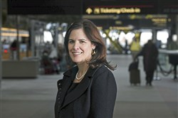 Christina Cassotis, CEO of the Allegheny County Airport Authority, pose for a portrait Jan. 17, 2018, at the Pittsburgh International Airport.