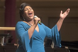 "Vocalist Anqwenique Wingfield will perform Chamber Music Pittsburgh's upcoming concert, ""Songs of Lake Volta."""