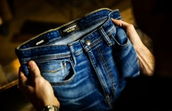 Denim by Pittsburgh-based Revtown, a direct to consumer brand that specializes in comfortable, versatile jeans.