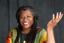 Storyteller Donna Washington appears at City of Asylum@Alphabet City on Saturday.