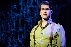 "Michael Campayno made his Broadway debut as Fiyero in 'Wicked,"" and is now onstage in the role, with the national tour in Pittsburgh."